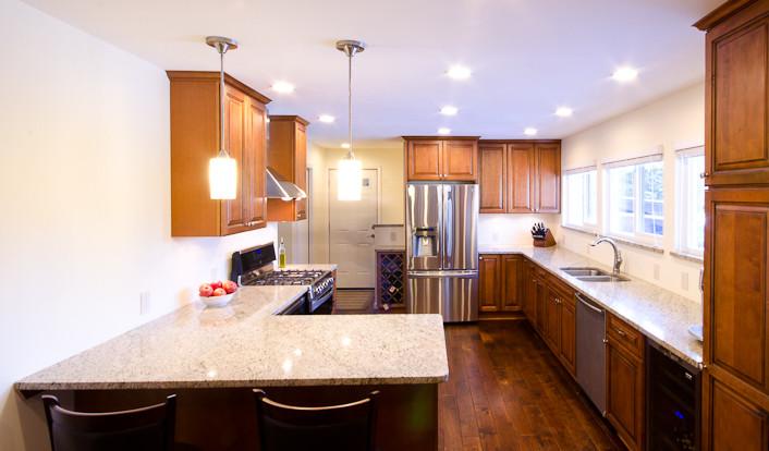 Portfolio labra design build - Michigan kitchen cabinets novi mi ...