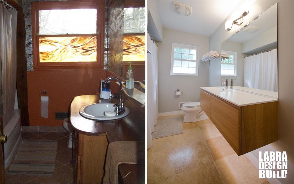 Ikea Bathroom Before After bathroom remodel | labra residence | labra design+build