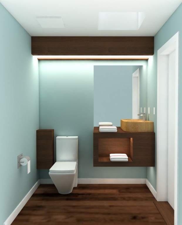 modern bathroom design for scott labra design build
