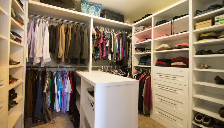 Home design construction services labra design build for His and hers walk in closet designs