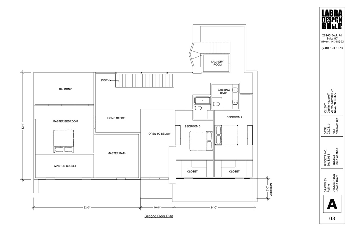 Modern home renovation design novi mi labra design build for Home add on plans