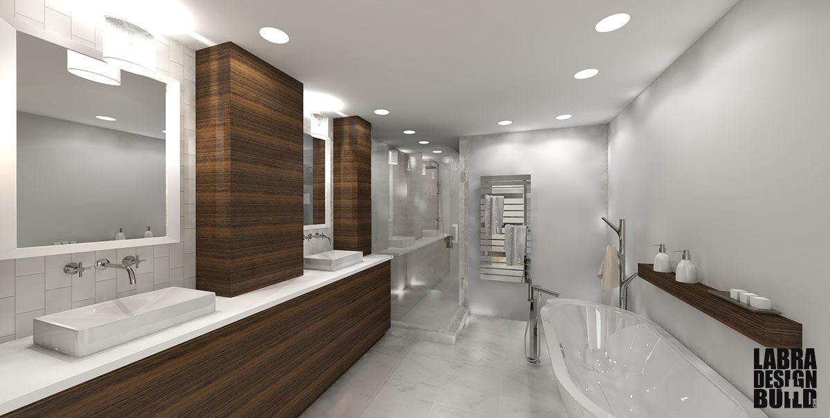 Modern Master Bathroom Design