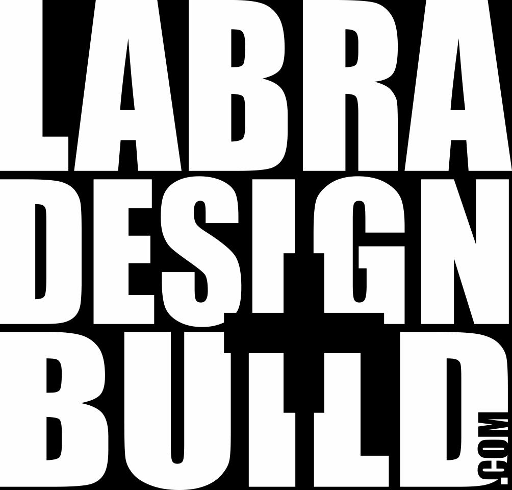 Labra Designs Logo Clear White
