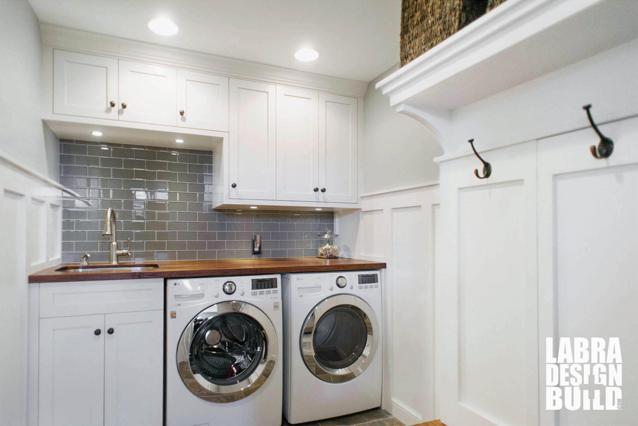 Laundry room mudroom renovation novi mi labra design build - Laundry rooms for small spaces decoration ...