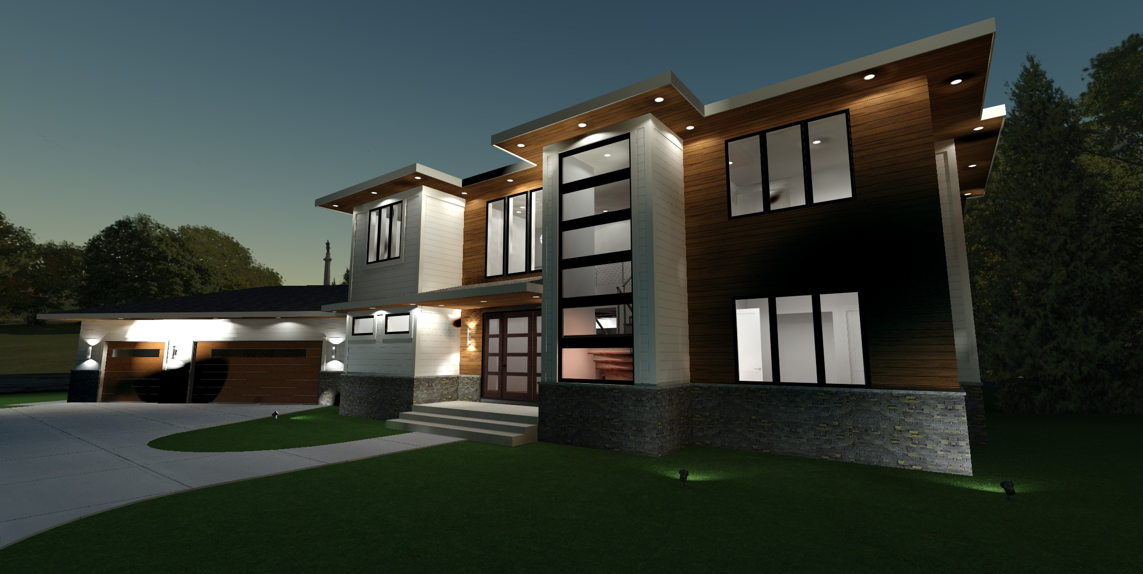 mk house custom home design labra design build