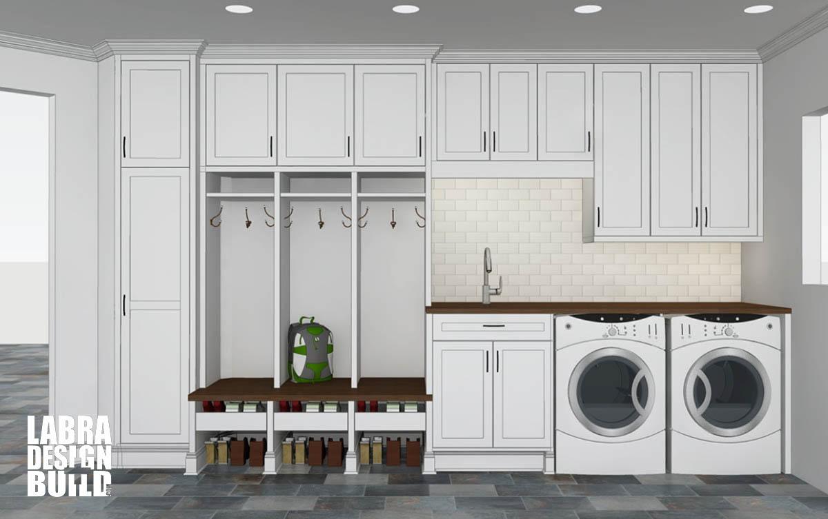 Mudroom Cabinetry Design Labra Design Build Michigan