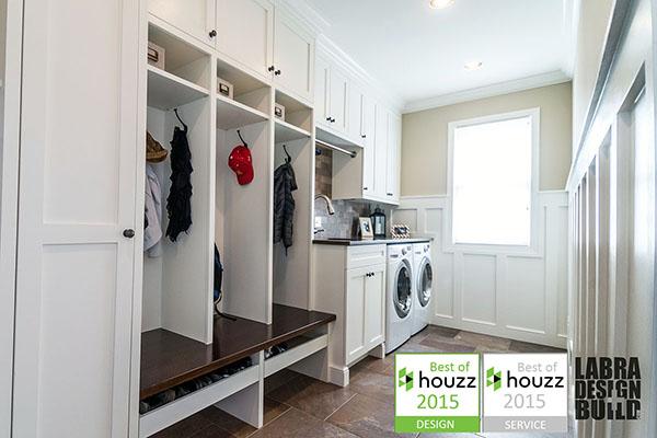 laundry & mudroom renovation novi, mi labra design build Best Laundry Design