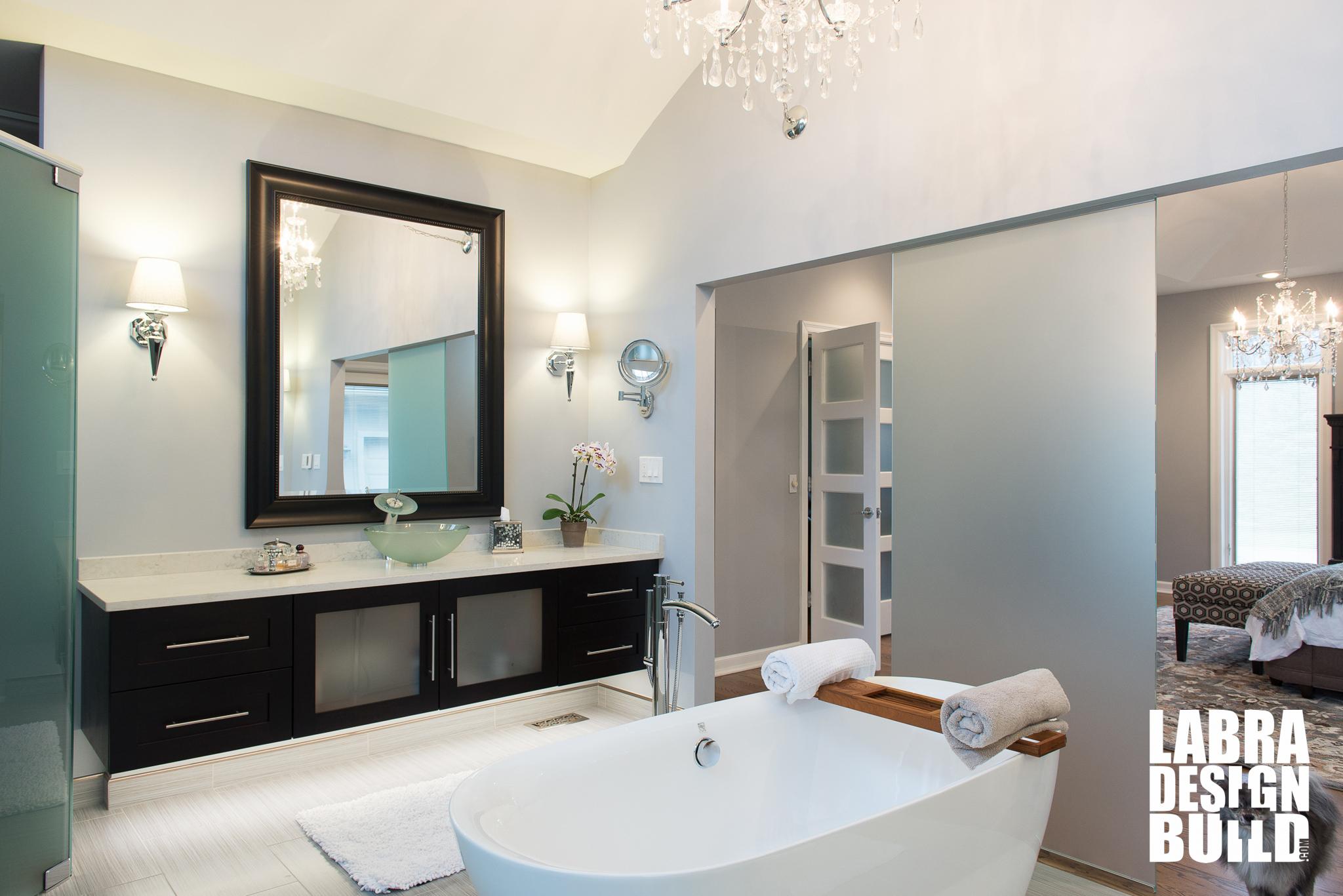 Master Bath Remodel Commerce Mi Labra Design Build